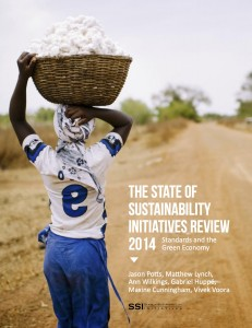 State of Sustainability Initiatives Review 2014 cover © International Institute for Sustainable Development 2014